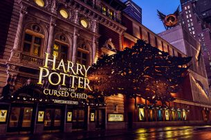 Harry Potter and the Cursed Child Marquee